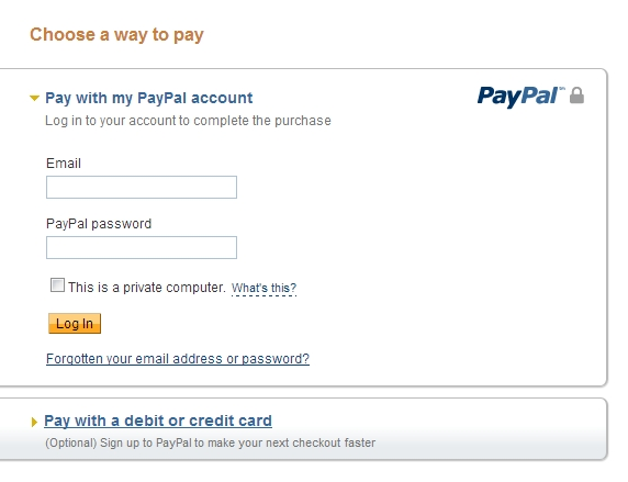 PayPalPage